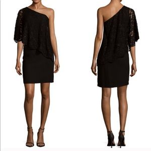Nanette Lepore™ Lace One Shoulder Dress Size 6